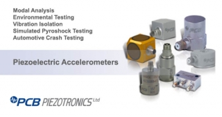 Piezoelectric Accelerometers, Applications