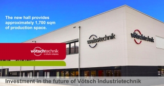 Investment in the future of Vötsch Industrietechnik