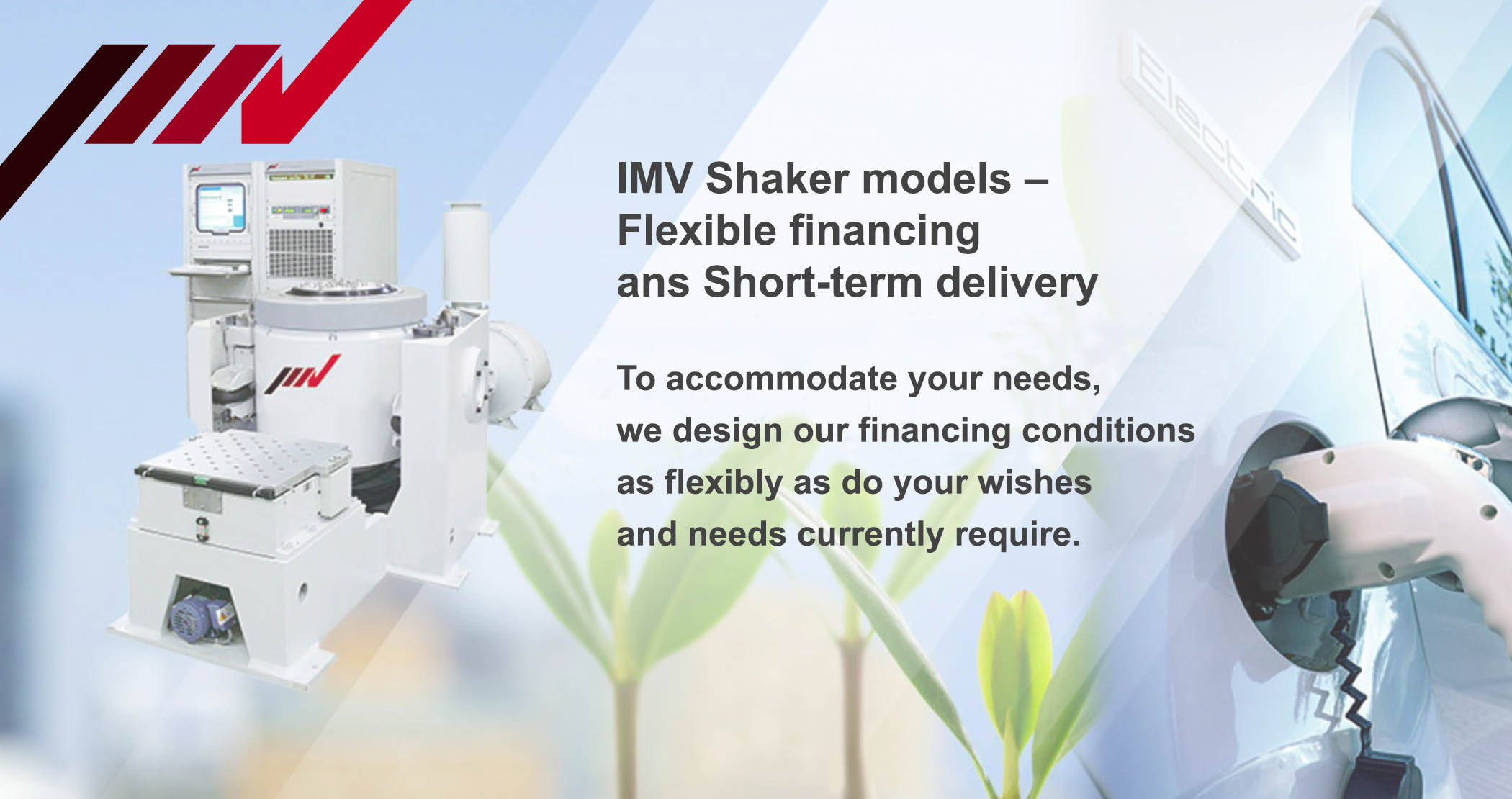 IMV_Shakers_Rent or hire purchase