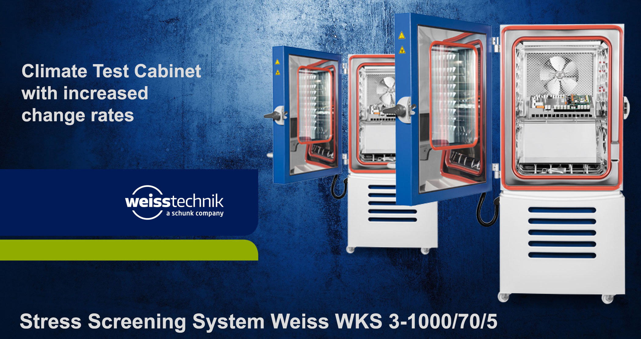 Stress Screening System Weiss, WKS3-1000-70-5 climate chamber