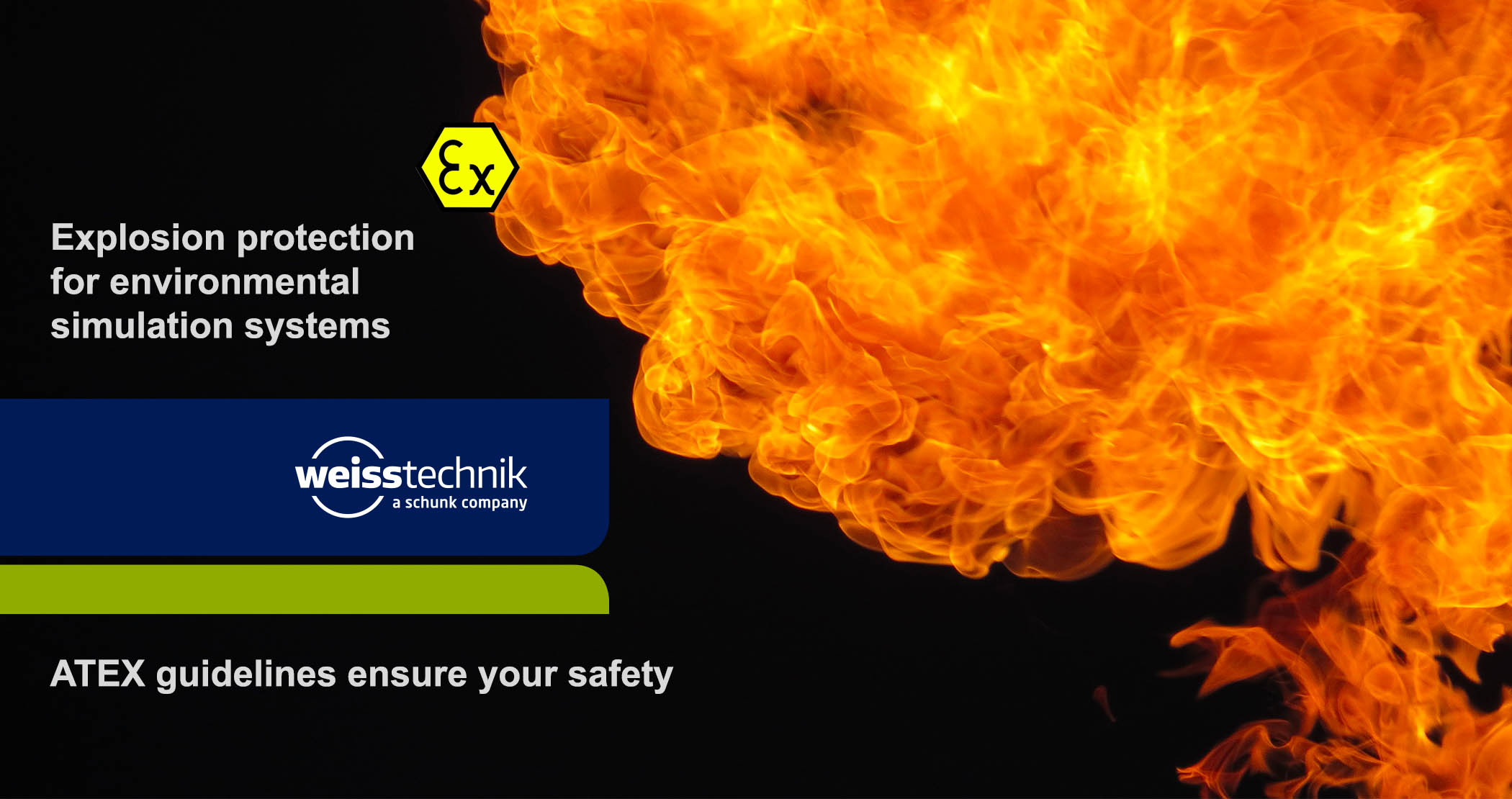ATEX, explosion protection for climate chamber